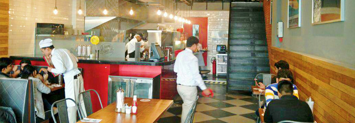 Johnny Rockets, Connaught Place (CP), New Delhi cover pic