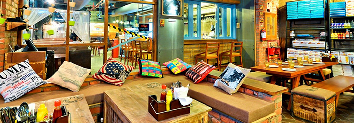Cafe Delhi Heights, Sector 18, Noida cover pic