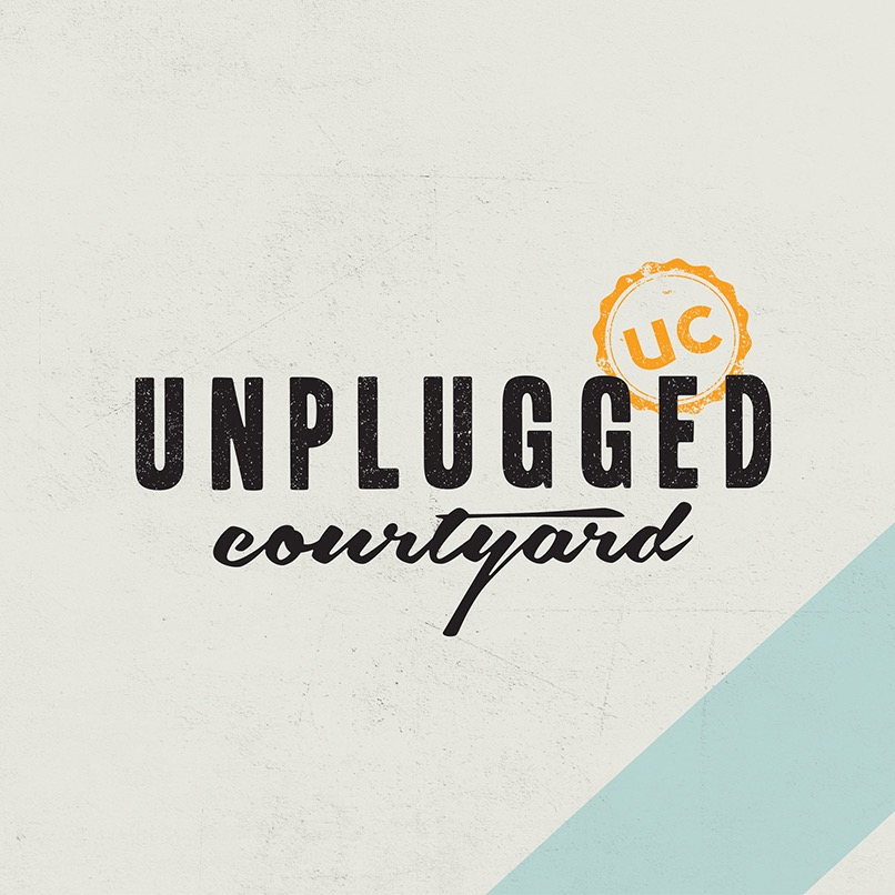 Unplugged Courtyard, Connaught Place (CP), Connaught Place (CP) logo