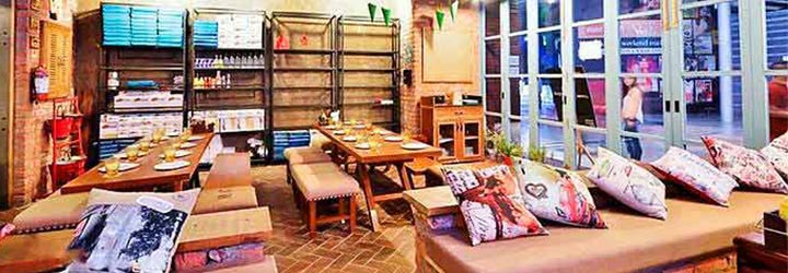 Cafe Delhi Heights, DLF Cyber City, Gurgaon cover pic