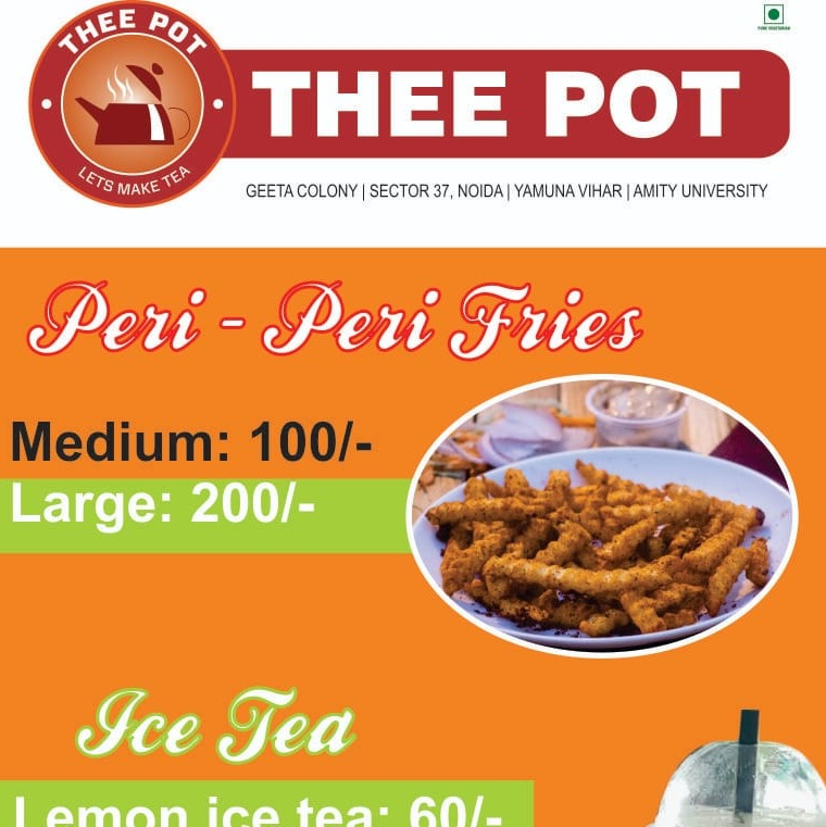 Thee Pot, Sector 37, Sector 37 logo