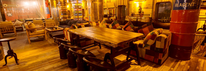The Junkyard Cafe, Connaught Place (CP), New Delhi cover pic