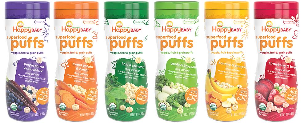 Healthy Snacks Malaysia Happy Baby Organic Superfood