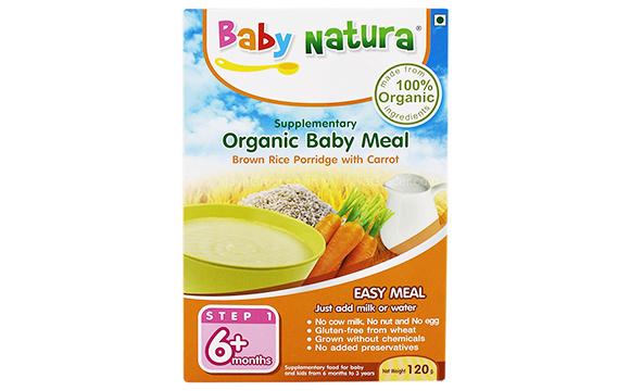 710db7fbda83dc Healthy Snacks Malaysia - Baby Natura Organic Brown Rice Porridge ...