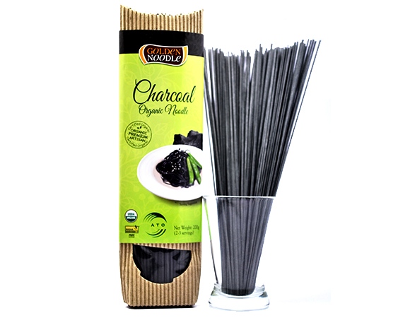 Bamboo Charcoal Sticks ~ Golden noodle organic wheat bamboo charcoal stick