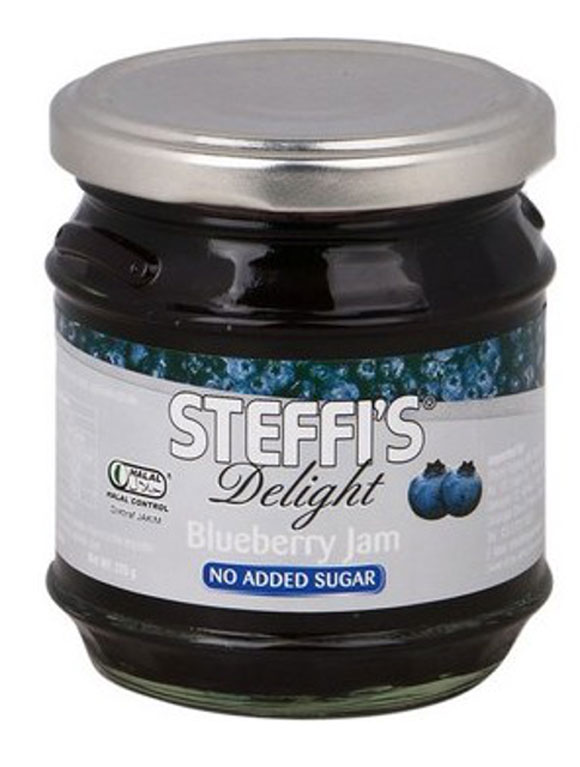Healthy Snacks Malaysia Steffi S Delight Blueberry Jam