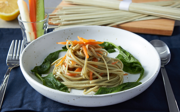 Healthy Snacks Malaysia - Organic Spinach Stick Noodle