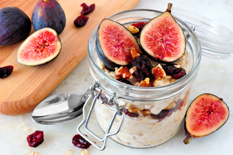 Healthy Snacks Malaysia - Overnight Oats You Can Try At Home Today!