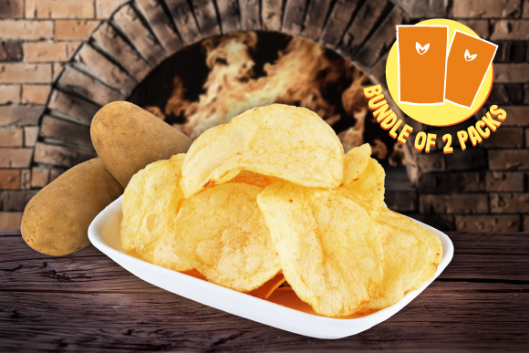 Healthy Snacks Malaysia Thin N Crisp Potato Chips 2 Packs