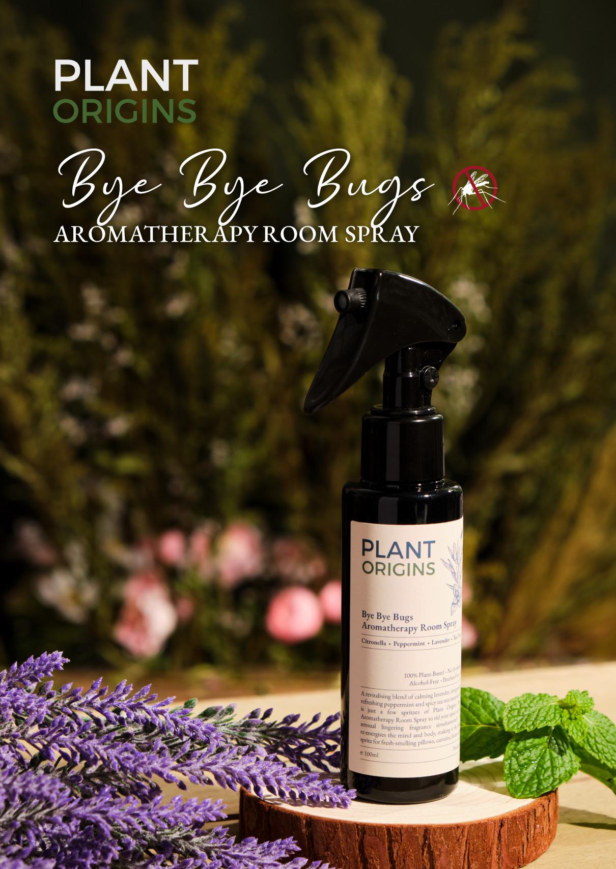 Healthy Snacks Malaysia Plant Origins Bye Bye Bugs Aromatherapy Room Spray