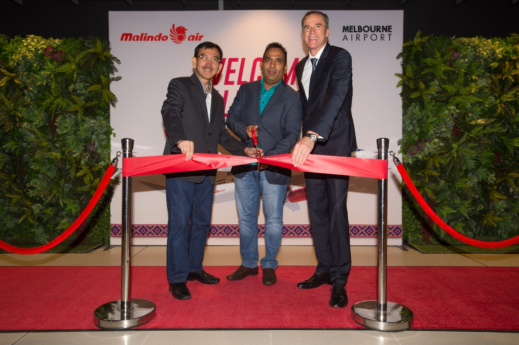 MALINDO AIR TOUCHED DOWN AT MELBOURNE