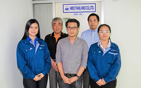 【タイでも顧客第一】 伝導機器からFA機器まで、産業機械の総合プロデューサーHRDタイランド