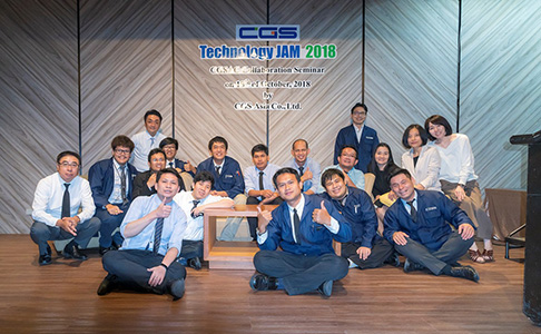 【CAD/CAM for mold in Thailand】 The strength of CGS ASIA is the system that produces at Japan's quality and high-quality technical support by Thai staff.