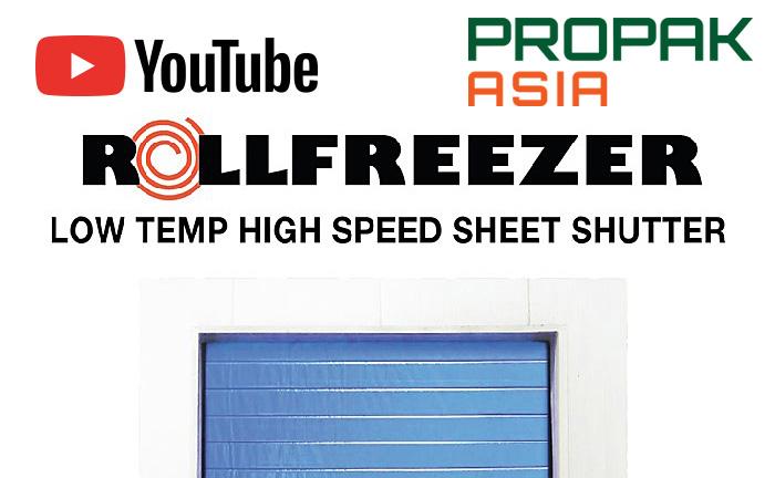 ワールド工業、ProPak Asia 2019で冷凍室に最適な新製品を発表!【高速シートシャッター】