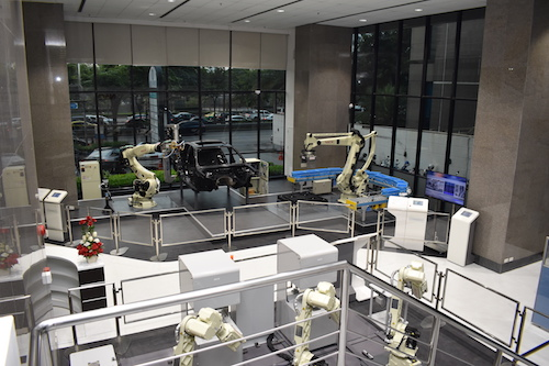 Let's get familiar with industrial robot from NACHI! The Robot Technical Center