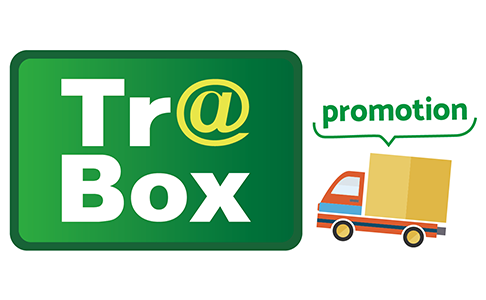 Tr@Box บริการจับคู่ระหว่างผู้จัดส่งสินค้าและบริษัทขนส่ง (Car seeking) ! จัดโปรโมชั่นฟรีค่าส่งลงทะเบียนและบริการสำหรับการจัดส่งในประเทศไทย (สำหรับบริษัทขนส่ง, บริษัทโลจิสติกส์, บริษัท Trading, ผู้ผลิต, ผู้แทนจำหน่าย ฯลฯ)