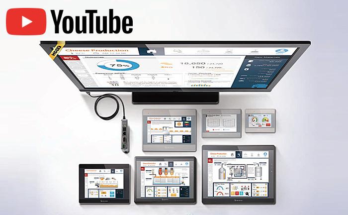 【コスト削減・タイ】300種類の基幹製品に接続可能! 安価・高性能タッチパネル!