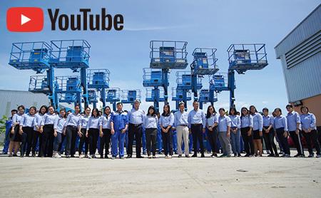 【建設機械のレンタル・販売/タイ】 多種多様な700アイテムからサイアムカナモト精鋭チームがご提案!
