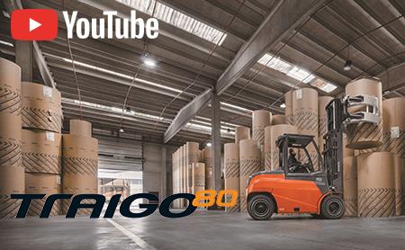 【新製品】 パワフルで高性能な電動フォークリフト「TOYOTA TRAIGO80」がタイで新登場!