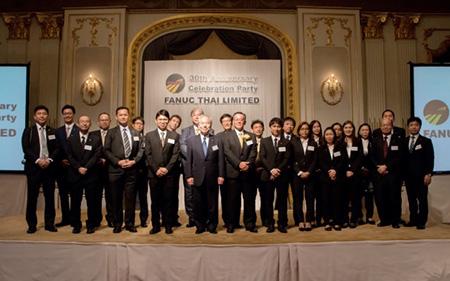 【周年記念】 ファナック・タイ、創立30周年記念式典を開催!