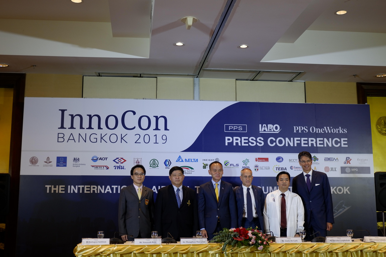 【แถลงข่าว】จัดงาน INNOCON Bangkok 2019 สุดยอดการประชุม International Air Rail Transport Summit ที่จะมีผู้เข้าร่วมประชุมกว่า 500 ท่าน จาก 30 ประเทศทั่วโลก