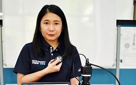 HOZANのデジタルマイクロスコープ「L-KIT581」で製品検査業務の効率と質をアップ!【タイ】