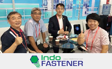 "【Indonesia・Exhibition】 NANO SEIMITSU(PT RHEIMA AUTOPRESISI INDONESIA)announces the first CCD camera high-speed sorting machine・standard machine ""7-camera version""! ""Indo FASTENER 2019"""
