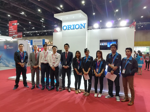 Japanese quality combined with Thai production became a reality! Orion chiller, the World standard.
