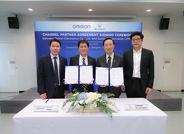 タイ大手機械・工具商社スミポンがオムロンエレクトロニクスと事業協定を締結。オムロン製品のタイ正規代理店に 【タイ・FAシステム部品】