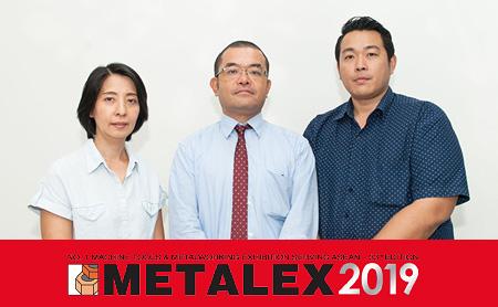 [หุ่นยนต์ร่วมปฏิบัติงานในไทย] โปรดมาสัมผัสเสน่ห์ของหุ่นยนต์ได้ที่บูธ UENO ที่งาน METALEX 2019
