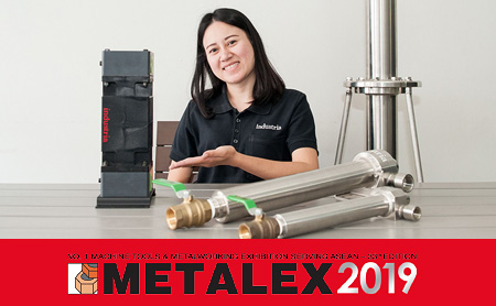 eCELL, Water soluble coolant putrefaction smell prevention device, will be exhibited for the first time at the METALEX 2019! Associated with FILSTAR, the water treatment effect is improved