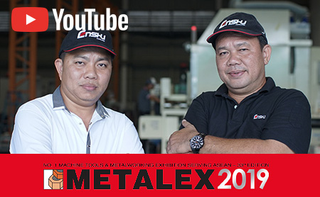 [Unveil Auto Loading Option for WE30Ve / METALEX] Enshu (Thailand), manufacturing and selling Machining Center.