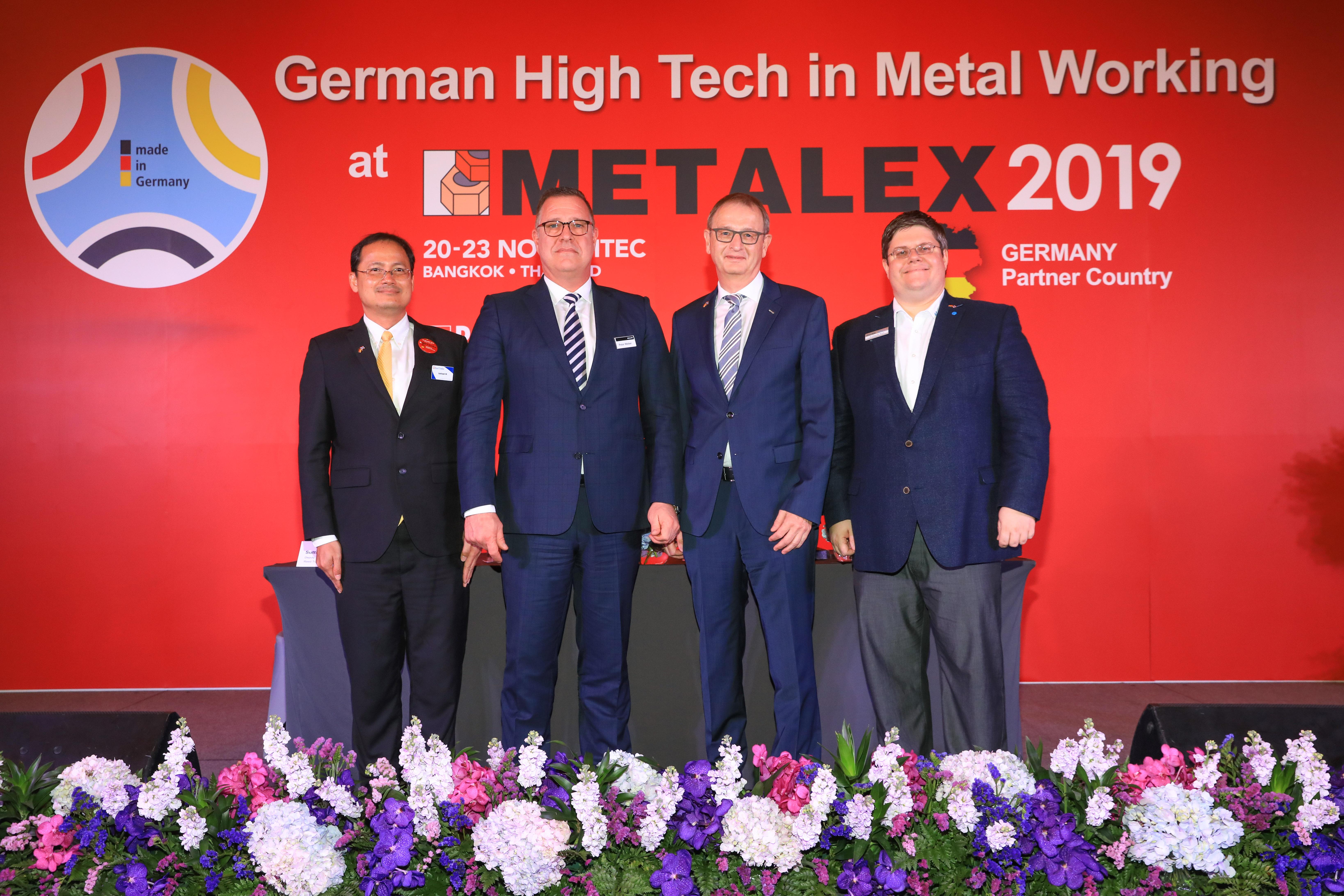 METALEX 2019  พร้อมกับสุดยอดเทคโนโลยีโลหะการจาก<br>เยอรมนี