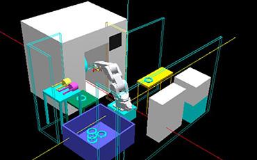 【タイ・FA】マーカー(刻印機)だけじゃない!山田マシンツールはロボットを使った設備でもFA化に貢献