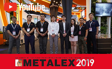 METALEX 2019 タカマツマシナリー(タイランド)動画リポート!【CNC精密旋盤/タイ】