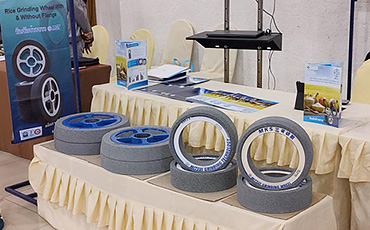 【タイ・研削砥石】研削用砥石の技術を活かした精米機でタイの米市場にチャレンジ!