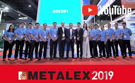 METALEX 2019 スミポン 動画リポート!【工作機械・工具・測定、FA・IoT/タイ】