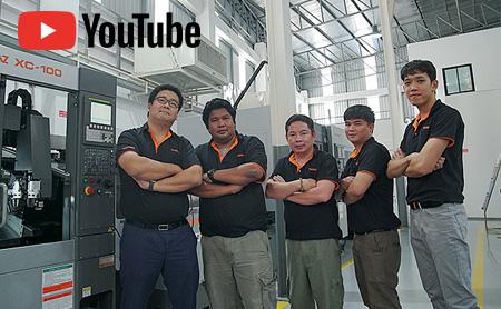 世界最小旋盤「XC-100」!コンパクトローダー装着で作業効率アップ【半自動化/タイ・ASEAN】
