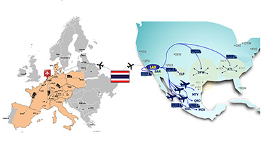 【国際輸送:タイ⇒欧州・米州】バンコク・ゲートウェイ・サービスを推進!モノの消費地欧米へ安定して供給