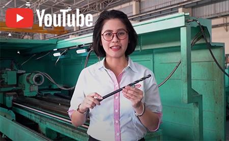 การเจาะ  Gun drill  เหล็กทรงกลมที่หายากที่สุดในประเทศไทย !   ต้องที่นี้   YSK  Axxel
