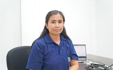 タイで自動ねじ締め機を販売する、タイ日東精工マシナリーの女性セールスに聞く