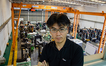 สร้างฐานการผลิตและให้บริการ เพื่อเปลี่ยนประเทศไทยให้เป็นศูนย์กลางเกี่ยวกับเครื่องจักรกล (บริษัท ENSHU / เครื่องจักรกล)
