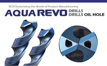 Two auto makers introduced! Usefulness of carbide drill/aqua REVO drill oil holes are real.