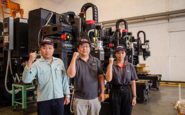 """(บริษัท ENSHU / เครื่องจักรกล) ความน่าสนใจของเครื่อง Machining center แบบแนวตั้ง No.40 รุ่น """"EV450Te"""" ที่จำเป็นต่อการผลิตของประเทศไทยในขณะนี้"""