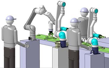 NACHI唯一の機能を搭載!ヒト協調型産業用ロボット「CZシリーズ」