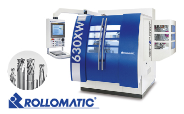 ROLLOMATIC - High-precision CNC tool grinder / Realized complete unmanned and stable high-quality continuous machining! [YKT Thailand]