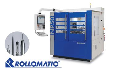 การผลิต Blanking / Punch pin ! เครื่อง CNC Cylindrical Grinding Machine ที่มีประสิทธิภาพสูงที่สุด  พร้อมด้วยความยืดหยุ่นและให้กำลังที่ยอดเยี่ยม (บริษัท ROLLOMATIC / YKT)