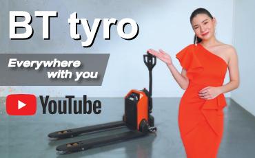簡単・安全・お手頃価格の電動ハンドパレット「BT Tyro」は搬送作業の新しい味方!【トヨタマテリアルハンドリング・タイ】