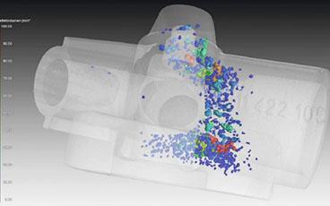 การตรวจสอบจุดบกพร่องภายในผลิตภัณฑ์ โดยการทดสอบแบบไม่ทำลาย (X-ray CT)