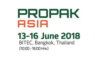 พบกับงานแสดงสินค้าอุตสาหกรรมและเทคโนโลยี Propak Asia ในวันที่ 13 - 16 มิถุนายนนี้ ที่ไบเทคบางนา!